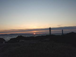 城ケ島の夜明け
