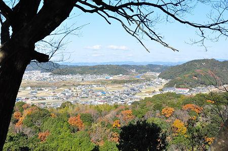 富田坂からの眺め