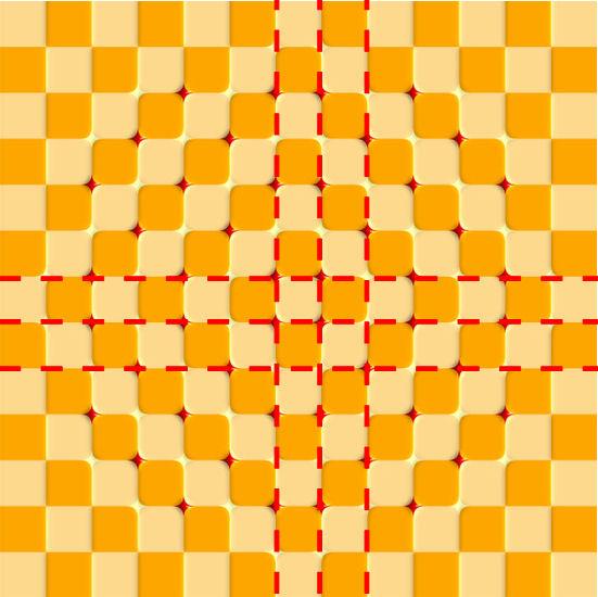 点線は目のガイド