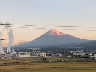 高いぞ富士山。