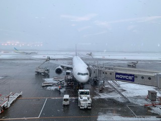 新千歳空港。